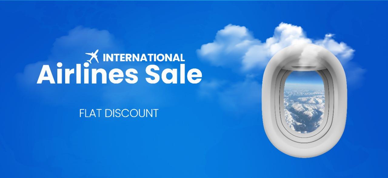 International Airline sale